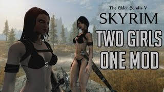 TWO GIRLS, ONE MOD - Skyrim: Special Edition Xbox One Mods!