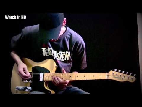 Fender 52 Vintage Hot rod Telecaster - Jason Hobbs