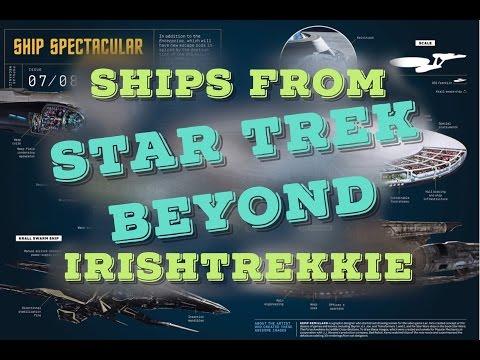 Star Trek Beyond | Ships Revealed | Updated Enterprise!!