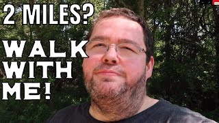 Walking 2.5 Miles At 350 Pounds - Weight Loss Update