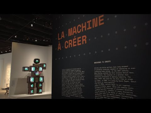 Artistes et Robots : l'exposition
