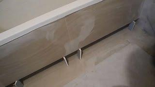 Делаем оригинальный экран под ванну ч.3(В этом видео показаны работы по монтажу гипсокартона на металлический каркас,показано как подшить те места..., 2015-05-12T04:56:51.000Z)