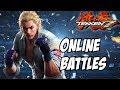 Tekken 7 Steve Fox gameplay ps4 online battles