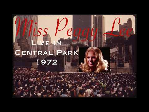 PEGGY LEE Live In Central Park 1972 Fever Razor A Song For You Big Spender + more