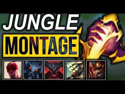Amazing Junglers - Jungle Plays Montage |  League of Legends