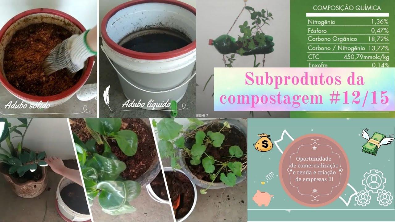 Subprodutos da compostagem - Série Compostagem do Zero #12/15