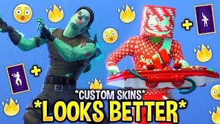 These Fortnite Dances Look Better With These Skins..! (CUSTOM SKIN EDITION)