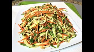 Салат ЯРКИЙ ВКУС ЛЕТА. Этот салат можно приготовить только летом ! Простой рецепт.