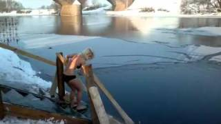 My ice swimming in Russia! Winter 2012