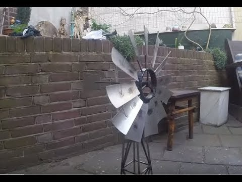 TIG Welding Project: Miniature Windmill Project DIY Metal Workshop