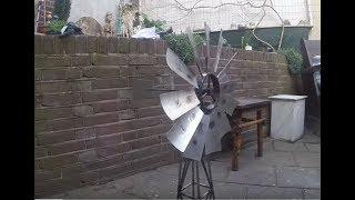 TIG Welding Project: Miniature Windmill Project DIY Metal Workshop
