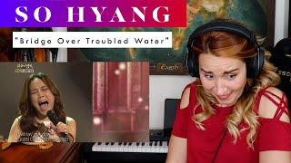"""Download So Hyang """"Bridge Over Troubled Water"""" REACTION & ANALYSIS by Vocal Coach / Opera Singer"""
