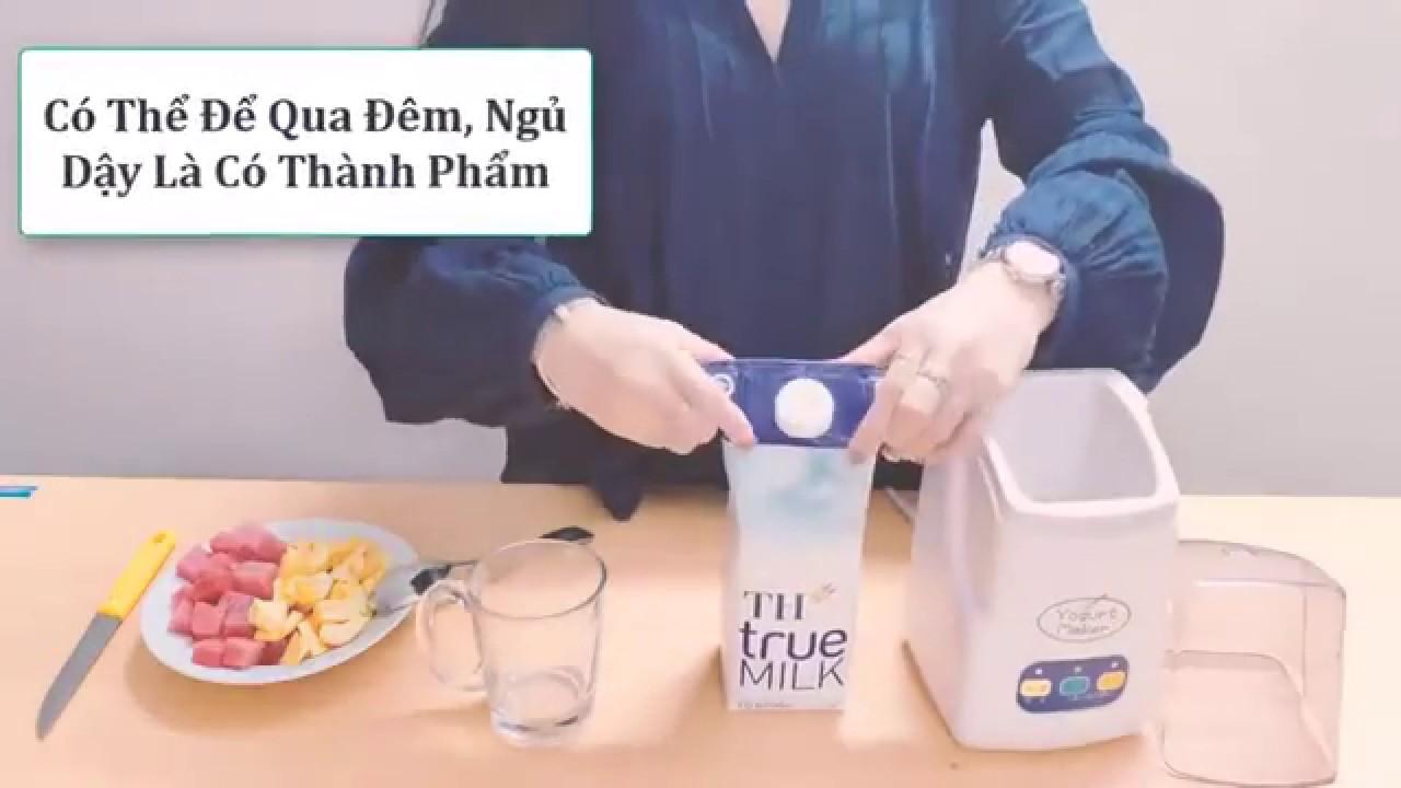 【Máy làm sữa chua Nhật Bản Yogurt Maker】 Ngon – Mịn – Dẻo