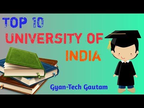 Top Ten University In India 2019 - Video By Gyantech Gautam