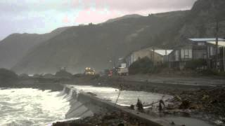 Raw footage - Wellington storm, June 21 2013