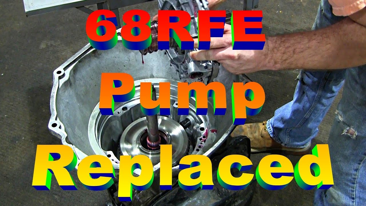 hight resolution of 68rfe transmission pump and filter replacement cummins dodge ram 2500 3rd gen