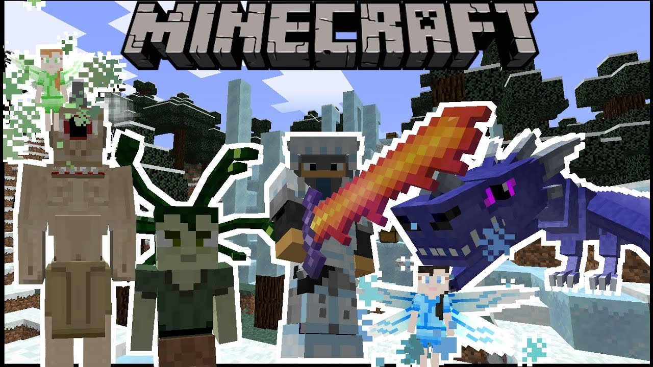 Minecraft: Ice and Fire (DRAGONS CYCLOPS WEAPONS AND MORE) Mod