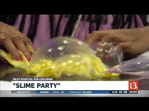 Riley slime party