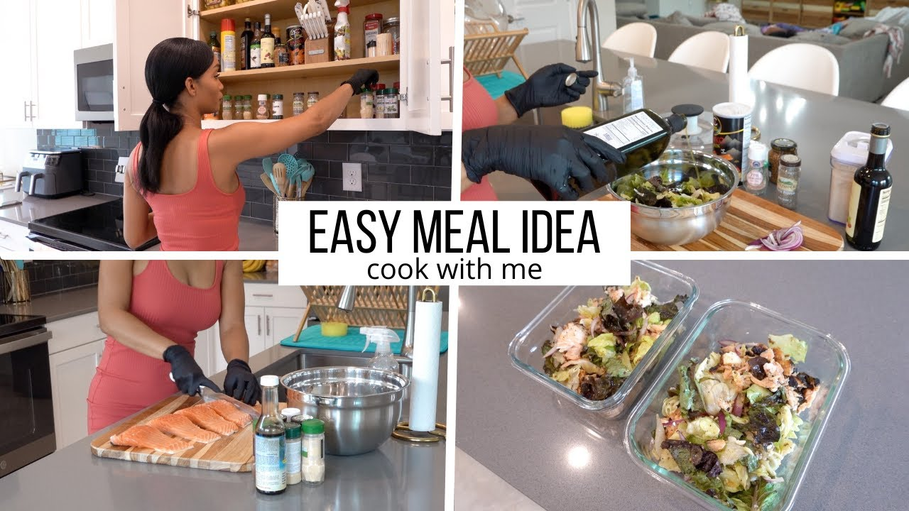 Download QUICK AND EASY HEALTHY MEAL IDEA // COOK WITH ME // Jessica Tull