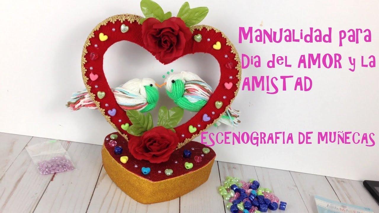 Manualidad Especial de San Valentin dia del Amor