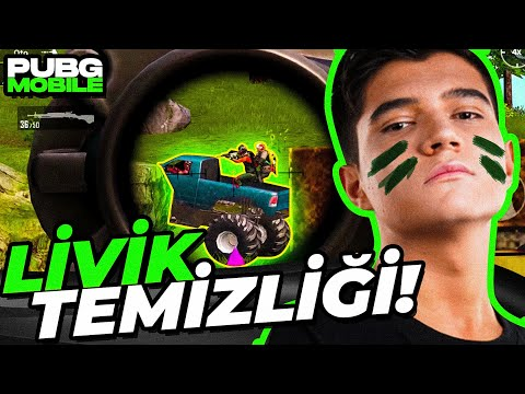 YENİ HARİTA LİVİK TEMİZLİĞİ!!   PUBG Mobile Livik Gameplay