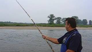 Рыбалка на реке Уфа около д. Азигулова -2005 год. Видео Нусратуллина Ф.Г.