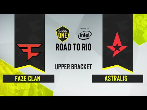 CS:GO - Astralis Vs. FaZe Clan [Dust2] Map 1 - ESL One: Road To Rio - Upper Bracket Final - EU