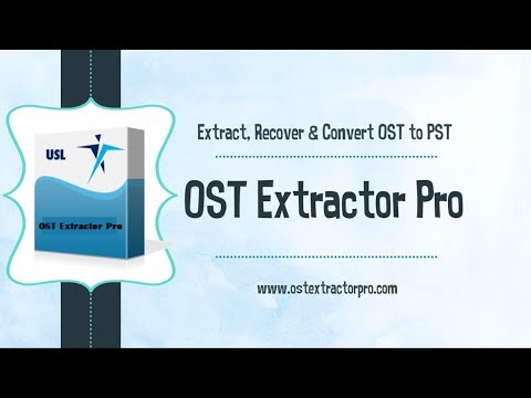 Convert ost to pst file | Recover PST file from OST data file