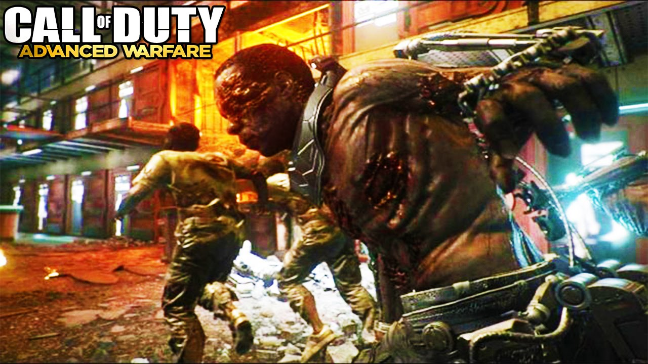 Secret Bonus ZOMBIE WAVE in Advanced Warfare (Exo