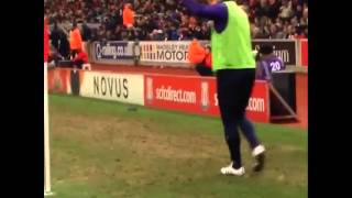 Stoke City fans try to abuse Frank Lampard but he gets the last laugh!