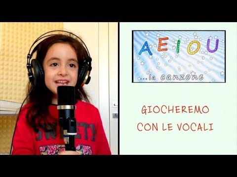 AEIOU - La canzone delle vocali - canzoni per bambini - baby music songs