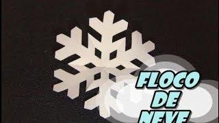 DIY.: Floco de Neve