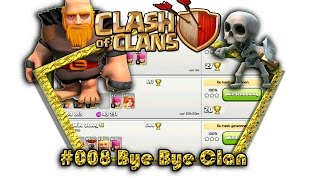 Let's play Clash Of Clans #008 - Bye Bye Clan [Deutsch / German][LP iOS IPhone]