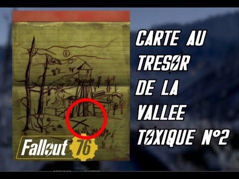 Carte Au Tresor Vallee Toxique.Carte Au Tresor De La Vallee Toxique N 2 Fallout 76 Treasure Map Of The Toxic Valley 2