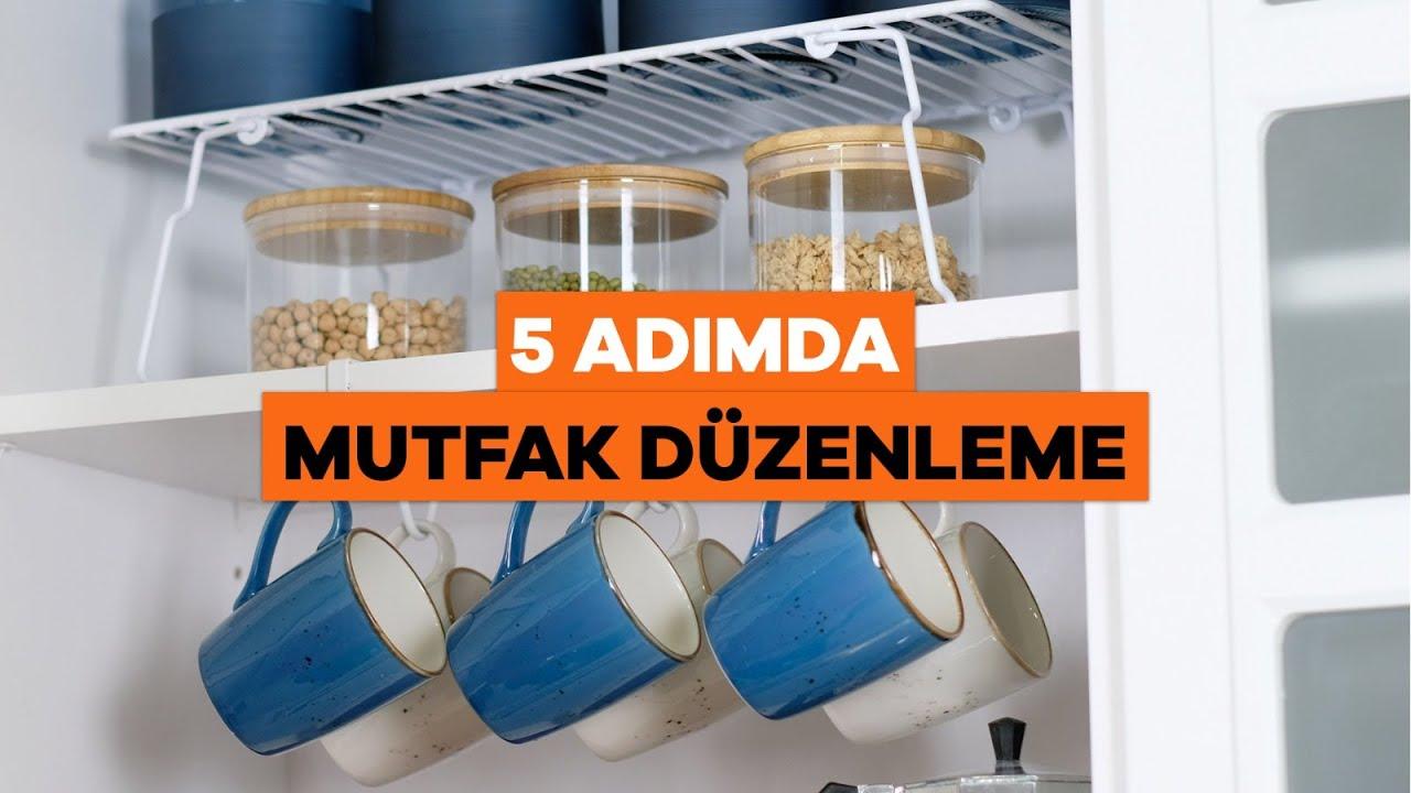 5 Adımda Mutfak Dolaplarınızı Düzenleyin! - Mutfak Düzenleme Fikirleri