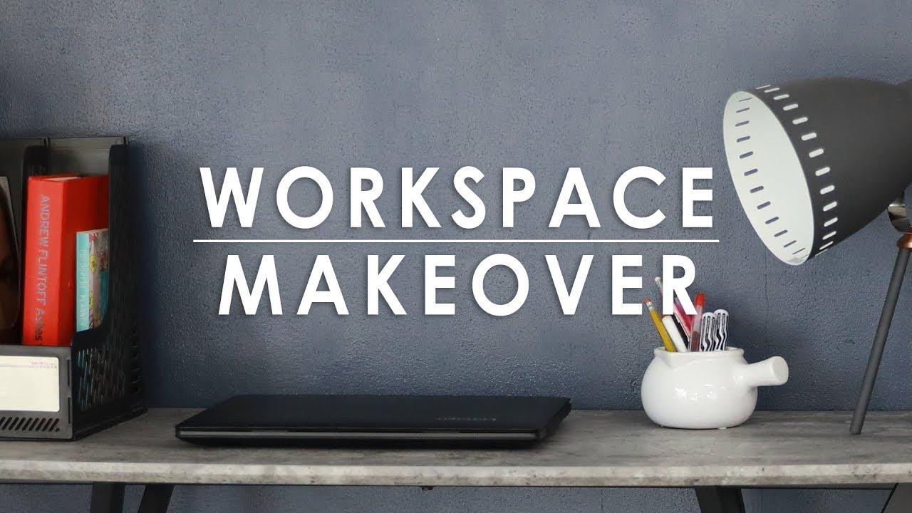 Workspace Makeover Mandaue Foam Home Tv Youtube