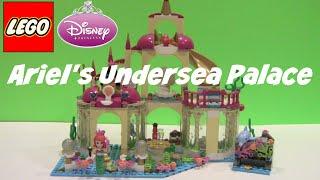 Lego Disney Princess Ariel's Undersea Palace Review 41063 Princesa De Lego