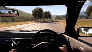 Forza Horizon 2 - 1991 Honda CR-X SiR Gameplay