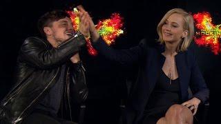 Jennifer Lawrence On The Time She Nearly Hit Josh