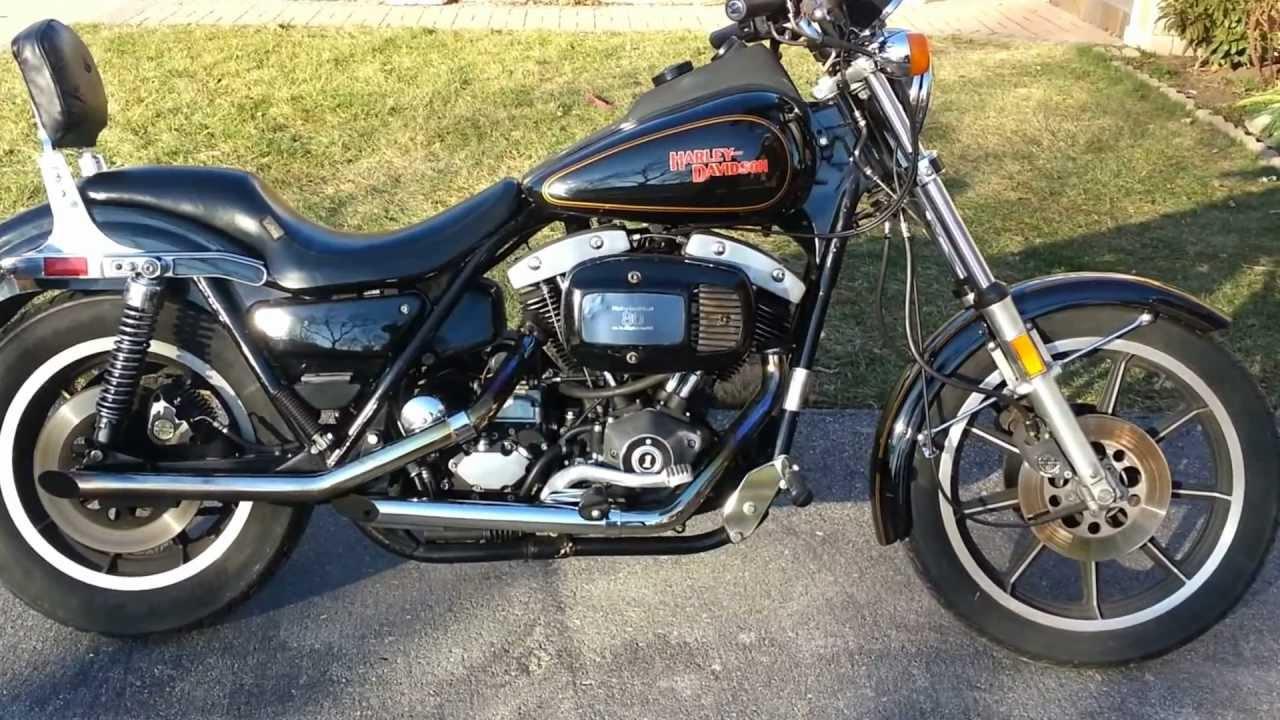1982 Harley Davidson Fxrs Lowrider Shovelhead
