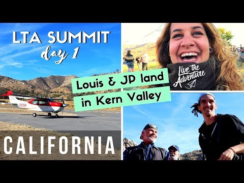 FunForLouis + JP Schultz land in Kern Valley + Live The Adventure Summit | CALIFORNIA