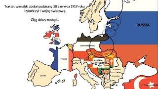 Wybuch Pierwszej Wojny Światowej