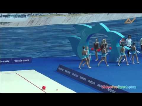 групповые выступления по художественной гимнастике Диана Баева