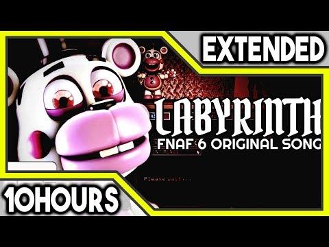 "FNAF 6 SONG ▶ ""Labyrinth"" | CG5 | 10 HOURS"