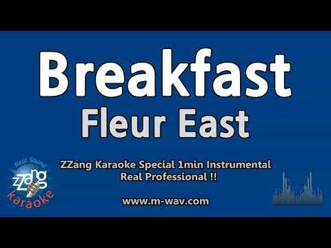 Fleur East-Breakfast (1 Minute Instrumental) [ZZang KARAOKE]
