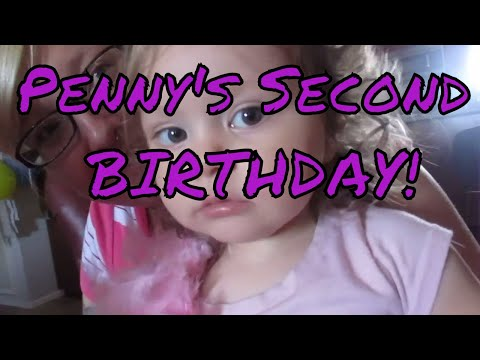 Penny's 2nd Birthday (Opening Presents)