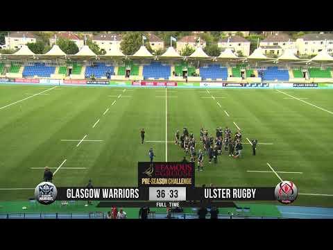 Glasgow Warriors Vs. Ulster | Pre-Season | LIVE