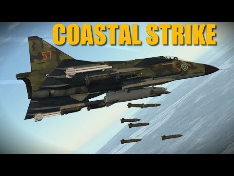 Cobalt Spear Campaign: Air Strike To Weaken Main Island's Defenses | DCS