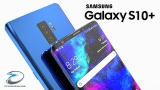 Samsung Galaxy S10+ Introduction Concept with Triple Camera,In-display Fingerprint Scanner