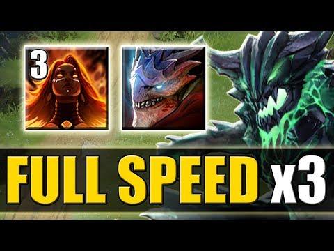 Double Range Full Attack Speed Dragon [Lina Passive + Elder Dragon Form] Dota 2 Ability Draft